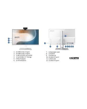 Modern am241p 11m-082eu MSI 9S6-AE0112-088 4719072809492 9S6-AE0112-088