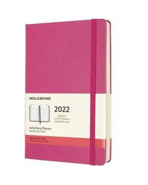 Agenda 12m daily pk pink rigido Moleskine DHD1312DC2Y22 8056420858686 DHD1312DC2Y22