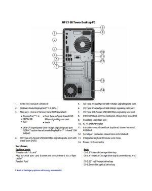 Z1 twr g8 rcto i5-11500 16 - 256 HP Inc 3T0E0ES 196188830772 3T0E0ES