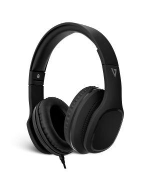 CUFFIE OVER-EAR CON MICROFONO HA701-3EP by V7 - Audio