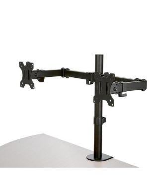 Staffa per due monitor con montagg Startech ARMDUAL2 65030884150 ARMDUAL2