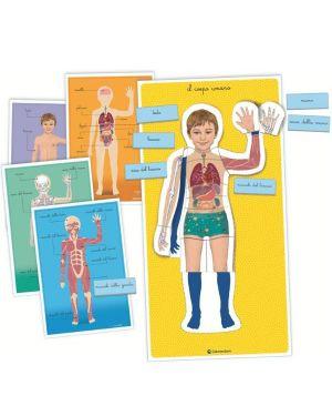 Montessori - il corpo umano Clementoni 16373A 8005125163731 16373A