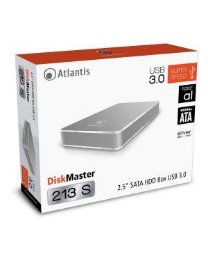 Box 2.5 sata usb 3.0 silver A06-HDE-213S by ATLANTIS LAND - NETWORKING