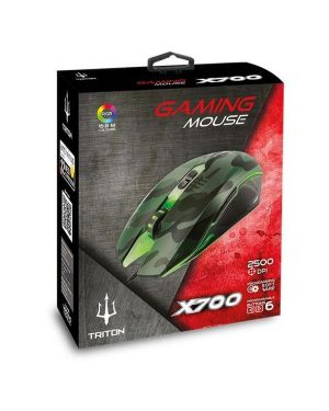 X700 gaming mouse Atlantis by Nilox P009-X700 8026974019727 P009-X700 by Atlantis Land - Accs & Ups