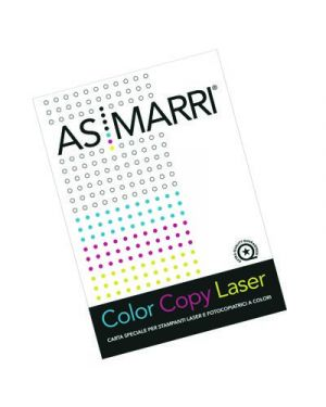 CARTA COLOR LASER OPACA GR.100 A4 FG.500 MARRI 7504 7504 by As Marri