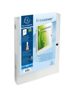 Portaprogetti ppl 24x32 kreacover dorso cm.4 personalizzabile EXACOMPTA 59988 3130630599883 59988