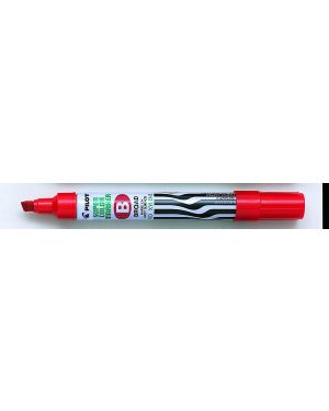 Marcatore super color permanent punta scalpello rosso pilot 2423