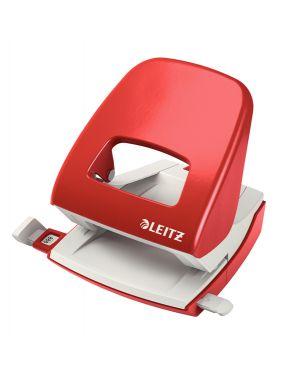 Perforatore 2 fori 5008 rosso max 30fg leitz 50080025