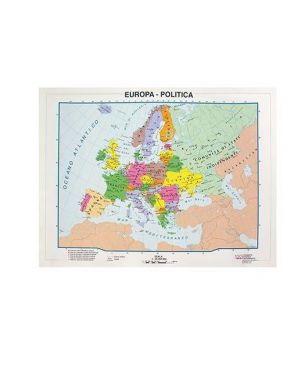 Cartina a4 europa pol. - fisica CWR 9344 8004957093445 9344