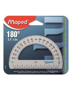 Goniometro 180°   alluminio Maped 129200 3154141292002 129200