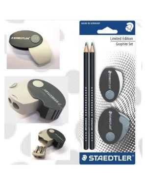Graphite set 2 matite hb+gomma+temp Staedtler 1339SBK2P1 4007817133248 1339SBK2P1