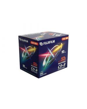 Cd-r 80 min. 52x jewcase 47384 10pz Fujifilm 16305 4902520242211 16305