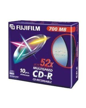 Cd-r 80 min. 52x slim 47444 conf 10 Fujifilm 16306 4902520242228 16306