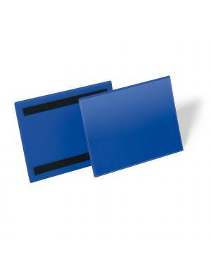 50 buste identificazione magnetiche 210x148mm (a5-oriz.) art.1743 blu durable 1743-07 4005546109022 1743-07