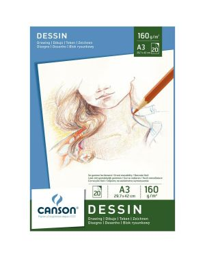 Blocco disegno a3 20fg. 160g Canson 200005780 3148950057808 200005780 by Canson