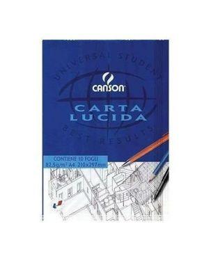 CF25BLOCCO CARTA LUCIDA 10FG.A4 80G 200005825A by Canson