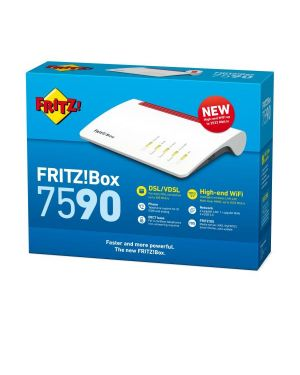Fritz box 7590 AVM COMPUTER SYSTEMS 20002804 4023125028045 20002804 by No