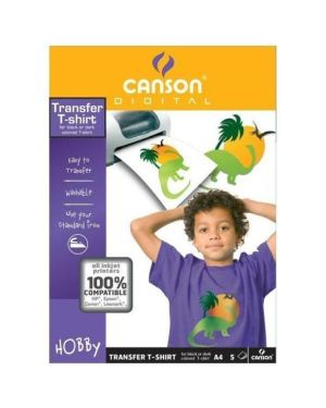 Ff film tranfert t-shirtscure a4 Canson 200987240 3148959872402 200987240 by Canson