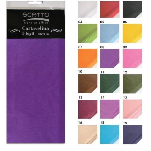 Conf5 fg. carta velina col.argento Scatto 200-99 8027217200995 200-99 by No