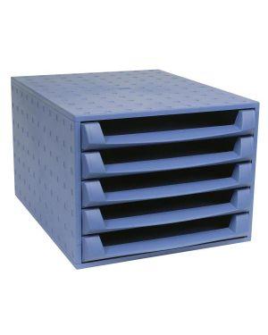Cassettiera the box   forever blu 221101D