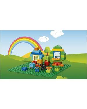 Base verde lego duplo Lego 2304A 5702015989480 2304A by Lego