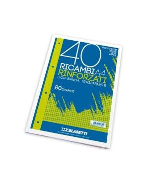RICAMBI A4 BIANCO LISCIO 40FF 2339- by Blasetti