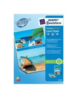 Carta fotogr.a3 150gr laser 100fg Avery 25983-100 4004182410318 25983-100 by Avery