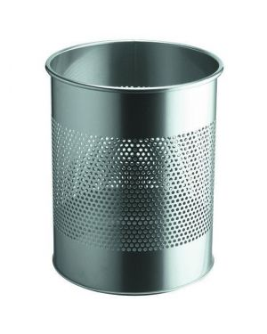 Cestino 15lt argento met Durable 3310-23 8710968448517 3310-23 by Durable