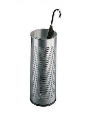 Portaombrelli 28 5lt  argento met Durable 3350-23 4005546989242 3350-23