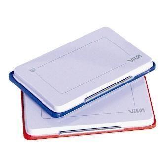 Cuscinetto inchiostrato blu 110x70 Viva 348B 8014035003419 348B by Viva