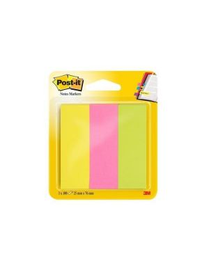 Post-it segnapagina 671-3 25x76 Post-it 10383 3134375317153 10383