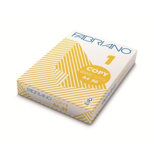 Carta copy 1 80gr a4 Fabriano 92121080 8001348107125 92121080 by Fabriano