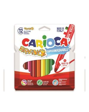 pennarello bravo assortiti Carioca 42755 8003511427559 42755