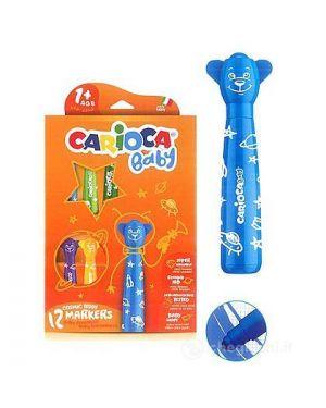 Pennarelli Teddy Marker Bear Carioca Cf12 1+ cod. 42816C 8003511428167 42816C