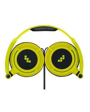 Cuffie hp smart fluo giallo microfo Meliconi 497435BA 8006023245109 497435BA by No