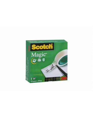 +1 nastro magic 810 19mmx33m Scotch 55677 3134375259002 55677 by Scotch