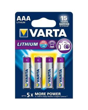 Aaa litio x4   conf.da 4 Varta 6103301404 4008496680436 6103301404