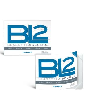 Album bl2 4angoli 24x33 110g liscio Blasetti 6167 8007758161672 6167 by Blasetti