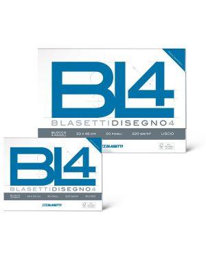 Album bl4 4angoli 33x48 200g ruvido Blasetti 6175 8007758161757 6175