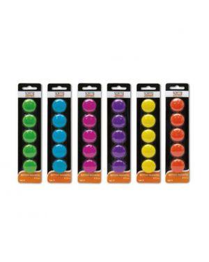 Conf6  bottoni magnet. 3cm col.ass Scatto 71 8027217000717 71