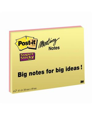 CF4POST-IT SUPERST MEETNOTE LARGE 75557