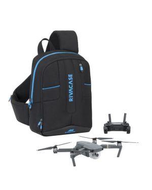 Zaino monospalla droni 13 3 Rivacase 7870BK 4260403573204 7870BK by No