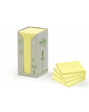 CF16POST-IT  RICICL 654-1T GIALLO 91315