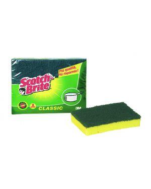 Pack 2 spugne strofinetto scotch brite® a12 91696 8410001134710 91696