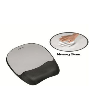 Mousepad c poggiapol memoryfoam arg Fellowes 9175801 43859497805 9175801 by Fellowes
