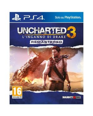 Ps4 uncharted 3: drake s deception - Uncharted 3: l'inganno di drake remastered 9802068