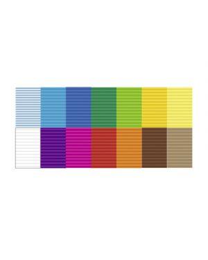 Carta bricolage in blocco 300g 50x70cm fg.10 ass URSUS 10792299 4008525115786 10792299