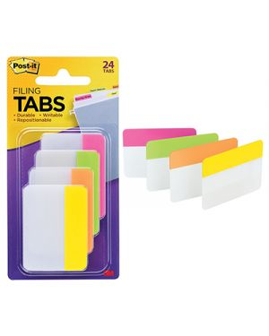 Post-it segnapagina strong 686 per archivio colori assortiti pz.24 POST-IT 8322 051131936195 8322