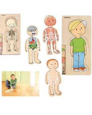 Puzzle in legno multilivello bambino BELEDUC 17129 4014888171291 17129 by No