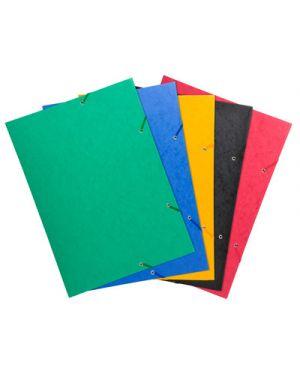 Cartellina 3 lembi con elastici angolari a3 colori assortiti 59500